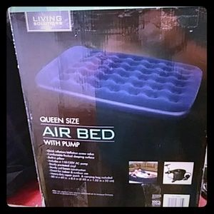 Living Solutions Bedding - Living Solutions Air Bed With Pump